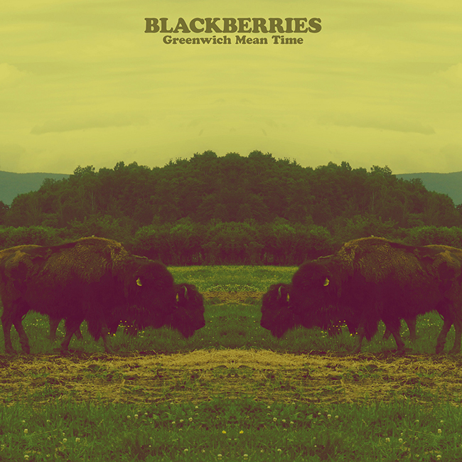 Blackberries - Greenwich Mean Time - Artwork